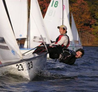 Tufts Junior Skipper Massimo Soriano