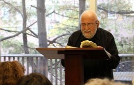 Image: The Department of Anthropology brings renowned poet Jerome Rothenberg to Tufts.